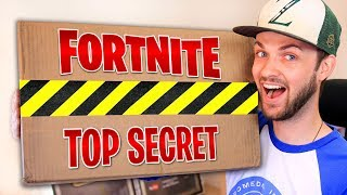 Download EPIC GAMES sent me a *SECRET* FORTNITE package! Video