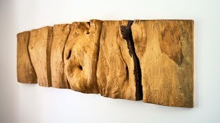 Download Making A Natural Wood Wall Sculpture Video