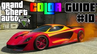 Download GTA V - Ultimate Color Guide #10 | Best Colors Combos for Grotti Turismo R Video