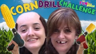 Download CORN on The DRILL CHALLENGE Fail or Disastrous? FUNkee Bunch Attempts the CORN DRILL! Video