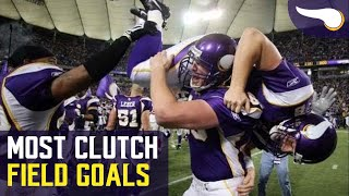 Download The Most Clutch Field Goal by Every Vikings Kicker Video