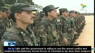 Download Colombia and Farc guerrillas ready for Cuba negotiation Video