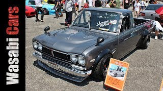 Download Hakotora: The Hakosuka Skyline Faced Sunny Truck - 09Racing Video