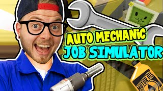 Download SquiddyPlays - JOB SIMULATOR! (HTC Vive) - AUTO MECHANIC! Video
