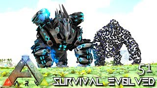 Download ARK: SURVIVAL EVOLVED - OMEGA MEGAPITHECUS E51 !!! ( ARK EXTINCTION CORE MODDED ) Video
