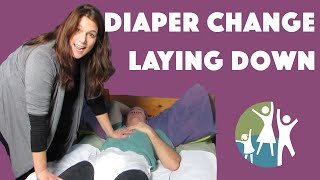 Download Autism Tips - Applying Autistic Adult Diapers in a Lying Position Video