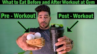 Download What to Eat Before and After Workout at Gym | bodybuilding tips Video