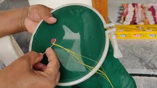 Download Simple రన్నింగ్ స్టిచ్ తో Designer Blouse చేసుకోటం ఎలా?| బ్లౌజ్ Design | embroidery Video