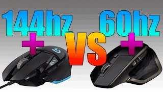 Download Do Gaming Peripherals Help In Gaming Performance? | 144hz vs 60hz | G502 vs MX Master Video