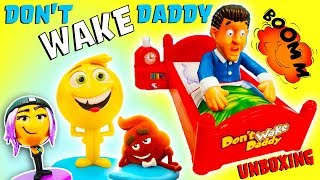 Download Don't Wake Daddy Unboxing with Emoji Movie Gene, Jailbreak, Hi-5! Learn Numbers & Counting! Video