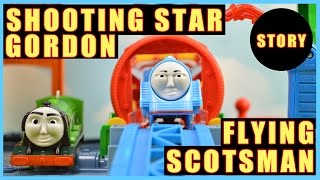 Download Shooting Star Gordon and The Flying Scotsman | Thomas and Friends The Great Race Part 2 Video