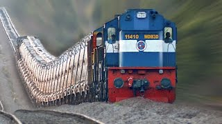 Download The Raising Trains ! Incredible GRADIENTS : Indian Railways Video