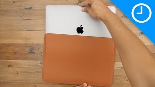 Download Review: MacBook Pro Leather Sleeve - worth the high price? Video