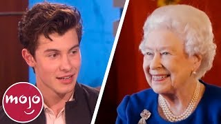Download Top 10 Hilarious Celeb Encounters with the Royal Family Video