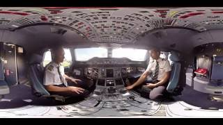Download 360° Cockpit tour of Emirates Airbus A380 | Emirates Airline Video