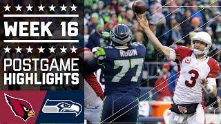 Download Cardinals vs. Seahawks | NFL Week 16 Game Highlights Video