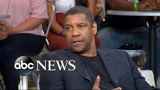 Download Denzel Washington shows off his singing voice Video
