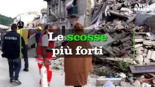 Download Terremoto, l'incredibile sequenza di quattro scosse nel Centro Italia Video