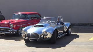 Download TWIN SUPERCHARGED CAMMER 427 SOHC 1965 Shelby Cobra Kirkham Video