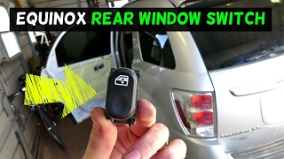 Download CHEVROLET EQUINOX REAR POWER WINDOW SWITCH REMOVAL REPLACEMENT Video