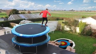 Download TRAMPOLINE ROOF JUMPING Video