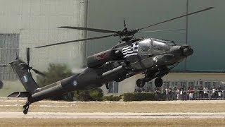 Download AH-64HA Apache | Takeoff, Airshow Display, Wheelie, Landing | Hellenic Army-AFW2013 Video
