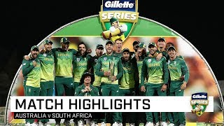 Download Australia v South Africa, third ODI Video