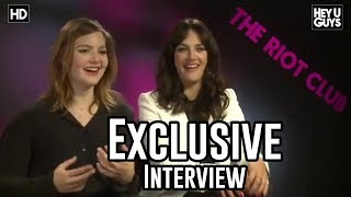 Download Jessica Brown Findlay & Holliday Grainger - The Riot Club Exclusive Interview Video