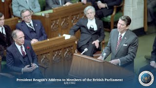 Download British Parliament: President Reagan's Address to Members of the British Parliament - 6/8/82 Video