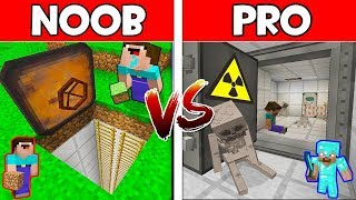 Download Minecraft - NOOB vs PRO : SECRET BUNKER in Minecraft ! AVM SHORTS Animation Video