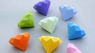 Download How to Make a Paper Diamond - Simple Way Video
