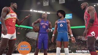 Download BEST SLAM DUNK CONTEST EVER! Michael Jordan, Dominique Wilkins, Vince Carter, Julius Erving NBA 2K16 Video