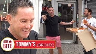 Download Barstool Pizza Review - Tommy's Pizza (Bronx) With Special Guest Lorenzo Video