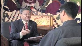 Download Kalon Tripa's First Post-Inauguration Tibetan TV Interview Video