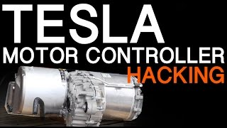 Download TESLA MODEL S MOTOR INVERTER HACKING Video