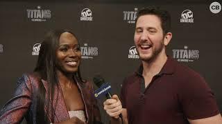 Download Anna Diop Talks Titans Video