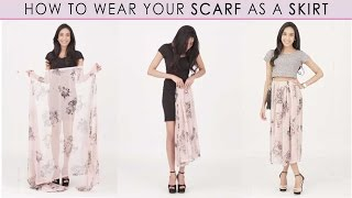 Download How To Wear A Scarf: Style Trick Video