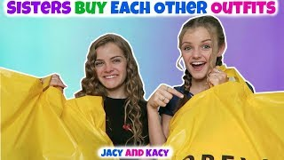 Download Sisters Buy Each Other Outfits ~ Shopping Challenge ~ Jacy and Kacy Video