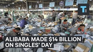 Download Alibaba made over $14 billion from China's Singles' Day Video