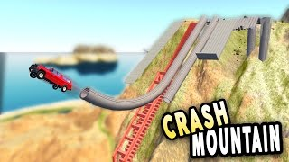 Download CRASH MOUNTAIN! - BeamNG.Drive Crashes and Gameplay Video