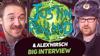 Download Alex Hirsch & Justin Roiland | Big interview for BigFest Russia (18+) Video