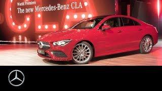 Download Mercedes-Benz CLA Coupé (2019) World Premiere at CES in Las Vegas | Re-Live Video
