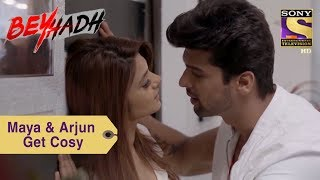 Download Your Favorite Character | Maya & Arjun Get Cosy In The Office | Beyhadh Video