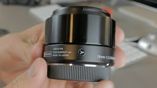 Download Sigma 19mm F2.8 DN Art Lens - Unboxing and First Impressions Video
