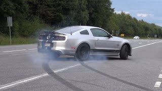 Download 662HP Ford Shelby Mustang GT500 SVT Burnout fail! Video