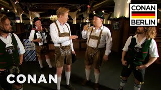 Download Conan & Andy Richter Learn A Traditional German Dance - CONAN on TBS Video