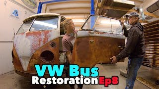 Download VW BUS Restoration - Episode 8 - Metal Madness! | MicBergsma Video