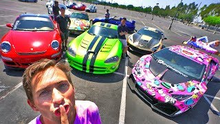 Download HIDE AND SEEK WITH SUPERCARS! *COPS INVOLVED* Video