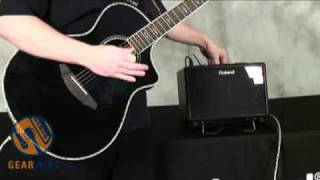Download Roland AC-33 Acoustic Guitar Amplifier Video Demo By Johnny DeMarco Video
