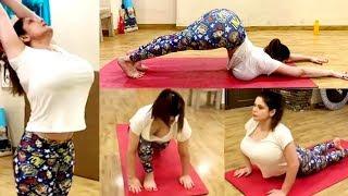 Download Zareen Khan Yoga Workout Video 2019 Video